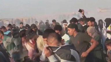 Border clashes in Gaza