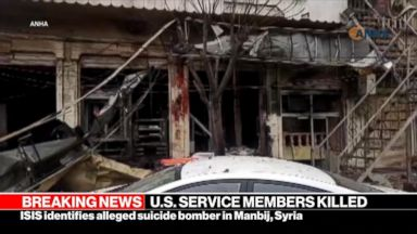 U.S. service members killed in explosion while on routine patrol in Syria