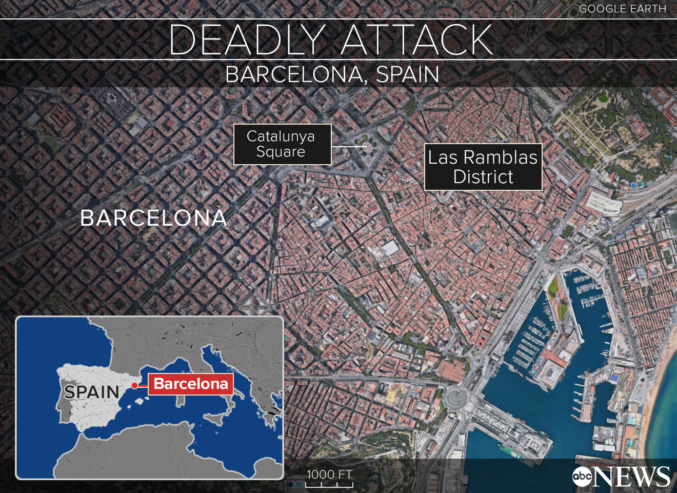 ISIS claims responsibility for deadly Barcelona attack