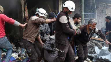 Trump's Syria aid freeze hits 'White Helmets' rescue workers