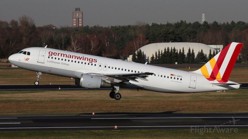 ... passenger jet operated by Germanwings is seen in this file photo