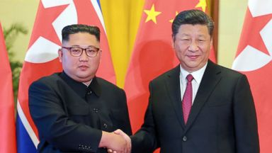 N. Korea hails 'unbreakable' ties with China in Beijing meetings, while Kim Jong Un again calls for 'step-by-step' denuclearization