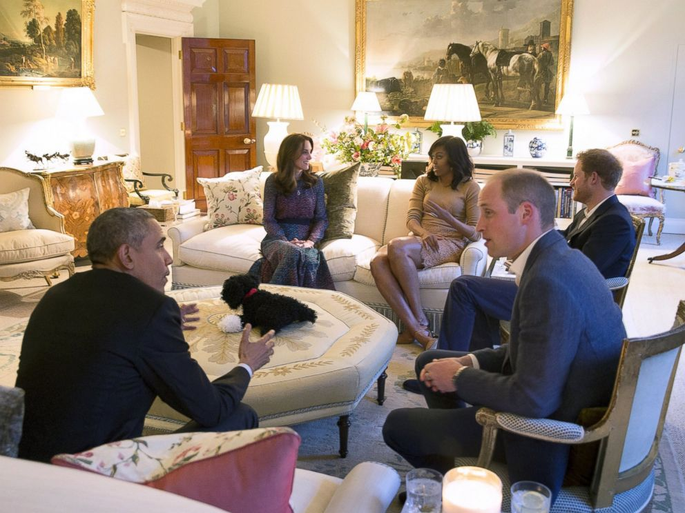 obama and michelle meet