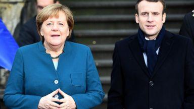 Germany, France renew friendship treaty, warn of nationalism