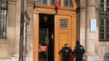 2 French policemen go on trial accused of raping tourist