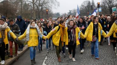 Thousands protest against abortion in Paris