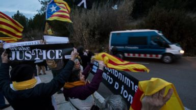 Catalan separatists transferred to Madrid as key trial nears