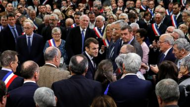 France's Macron launches 'grand debate' following protests