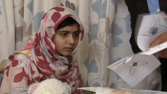 Malala Yousafzai recounts moment she was shot in the head by Taliban