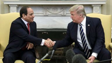 Trump congratulates Egypt's president after heavily criticized election