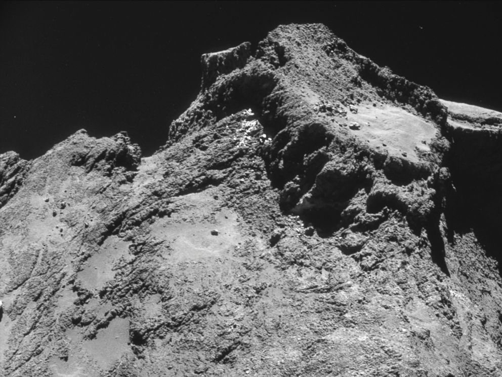 See the Up Close Photos of Comet Where Rosetta's Probe ...