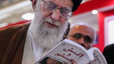 Iran's supreme leader checks out 'Fire and Fury'