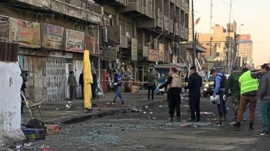 Twin suicide bombings in Baghdad leave at least 27 dead