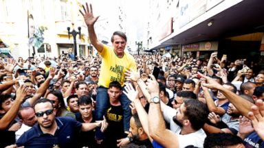 Far-right candidate stabbed at campaign event in Brazil