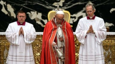 Pope recites final prayer at funeral for disgraced Cardinal Law