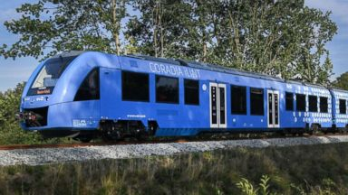 World's 1st hydrogen-powered trains hit the tracks in Germany in a breakthrough for 'green' fuel.