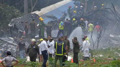 Jet with 104 passengers crashes just after takeoff in Cuba