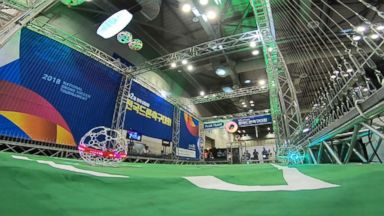 South Korea witnesses the birth of a sport from the future: drone soccer