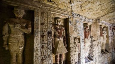Egypt discovers 4,400-year-old priest tomb in 'exceptional' condition
