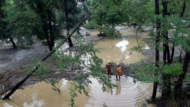 1,600 people evacuated due to flash floods in the south of France