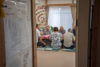 Years after the Fukushima nuclear crisis, a community center helps evacuees