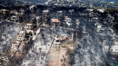 Greek investigators find 'serious indications' of arson in wildfires that killed at least 82 people