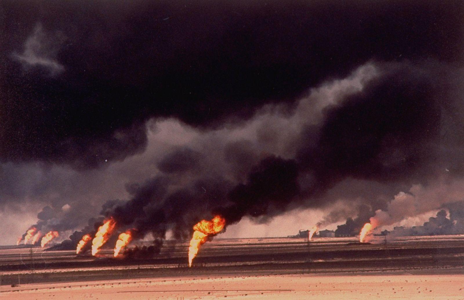 Desert Storm Oil Fires
