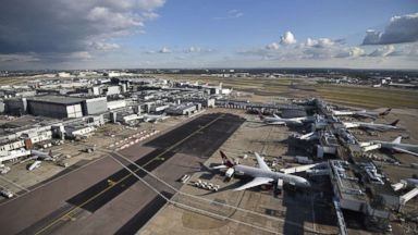 Flights start taking off again at London's Heathrow Airport after drone sighting