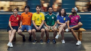 Group smuggles pride 'flag' into Russia for the World Cup