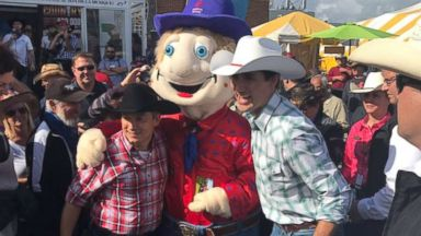 Canadian PM Justin Trudeau channels his inner cowboy amid rodeo controversy