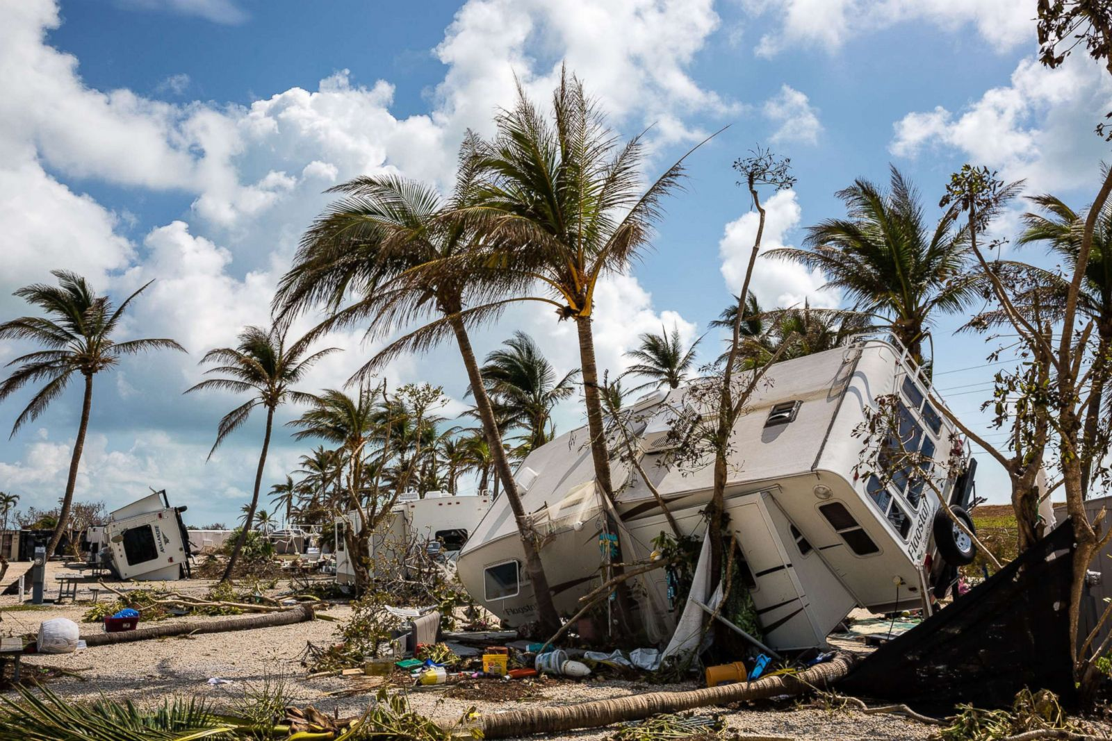 Cudjoe Key Florida Picture Irma Leaves Path Of
