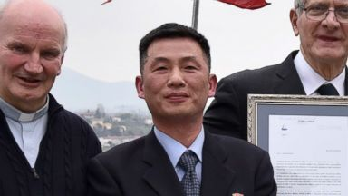 Defected North Korean diplomat urges international community to help ex-colleague believed to be in hiding in Italy