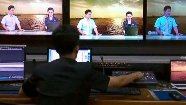 North Korea's state TV gets a quiet makeover, adding neon suits and smiles to newscasts best known for delivering the party line