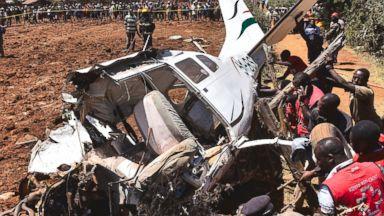 At least 2 Americans killed in Kenya plane crash