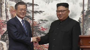 Moon says Kim will get what he wants from Trump by following through on denuclearization