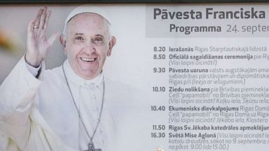 Pope Francis to tour Baltics, honor 'those who have suffered for their faith'