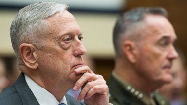 Syria strategy not to engage in civil war, but some things 'inexcusable': Mattis