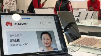 Huawei CFO arrested in Canada on behalf of US authorities