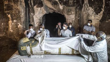 13th century priest's tomb discovered in Egypt's Luxor