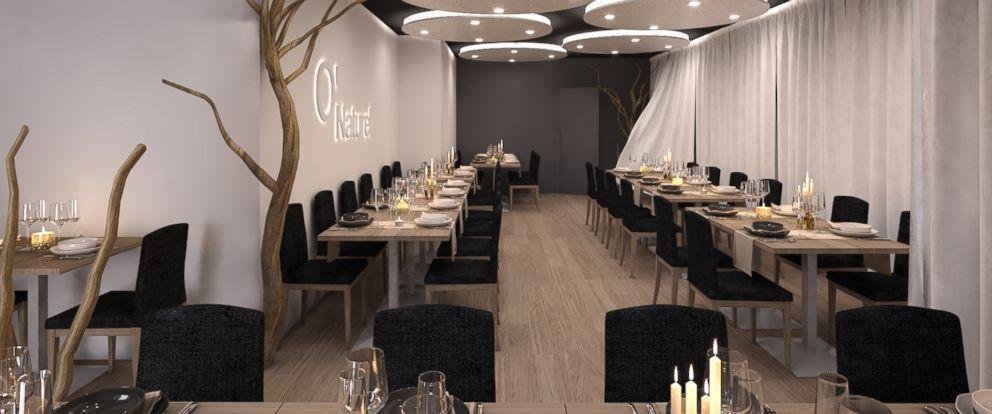PHOTO: The ONaturel restaurant in Paris, seen in an undated handout photo, has twenty tables.