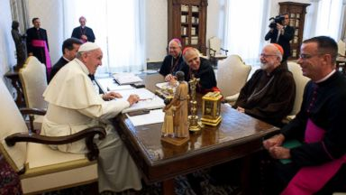 Pope meets with top US Catholic Church clergy in 'lengthy, fruitful' meeting about sex abuse