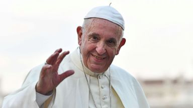 Pope Francis makes surprise visit to elderly woman in Rome