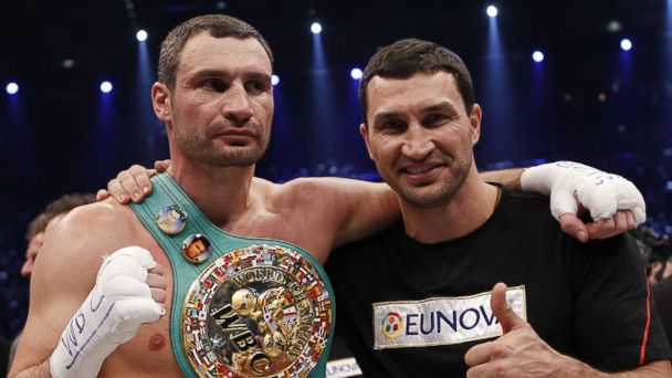Wladimir and Vitali Klitschko: A Tale of the Tape - ABC News