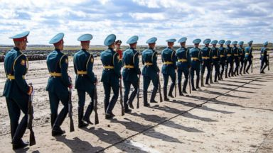 China joins the close of Russia's spectacular 'war games'