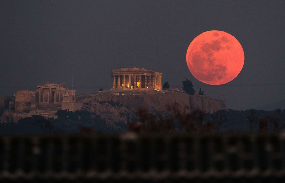 blood moon tonight greece - photo #5