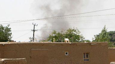 Taliban storms strategic Afghan city