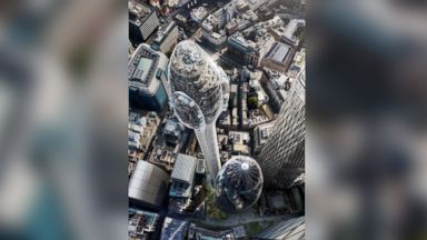 London's latest skyscraper is shaped like a giant tulip and is 1,000 feet tall