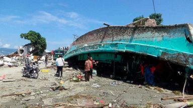 At least 800 dead after devastating earthquake and tsunami in Indonesia; Palu reportedly hardest hit