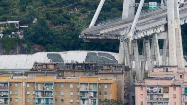 Italian company behind bridge collapse offers 500M euros to help victims, build new bridge