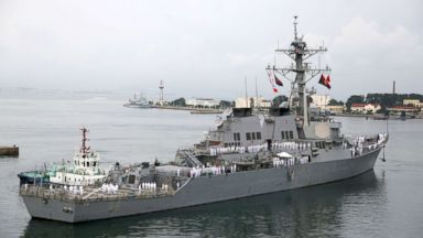 Two US Navy warships sail through Taiwan Strait